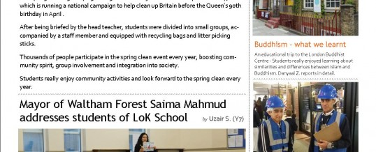 The Lantern Times – Termly School Newsletter Issue 02